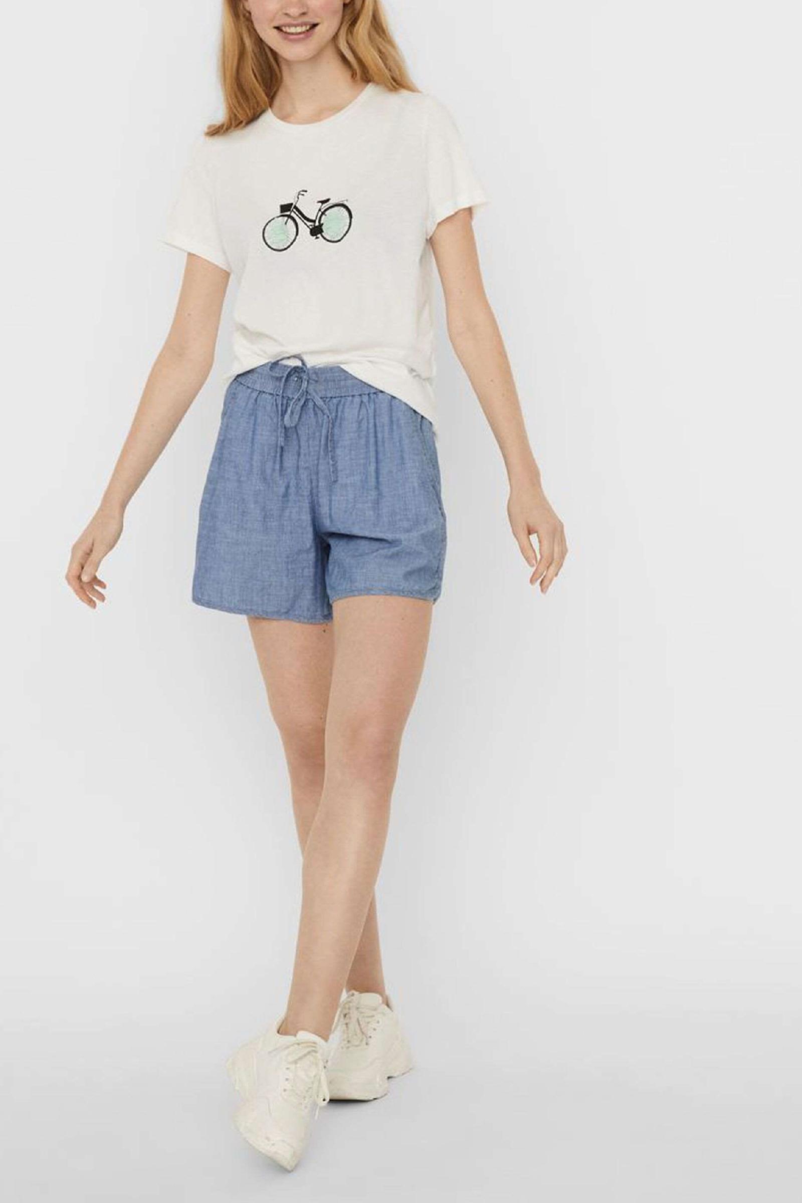 VERO MODA Women's T-Shirt VERO MODA   T-Shirt   10244391Print-BICYCLE