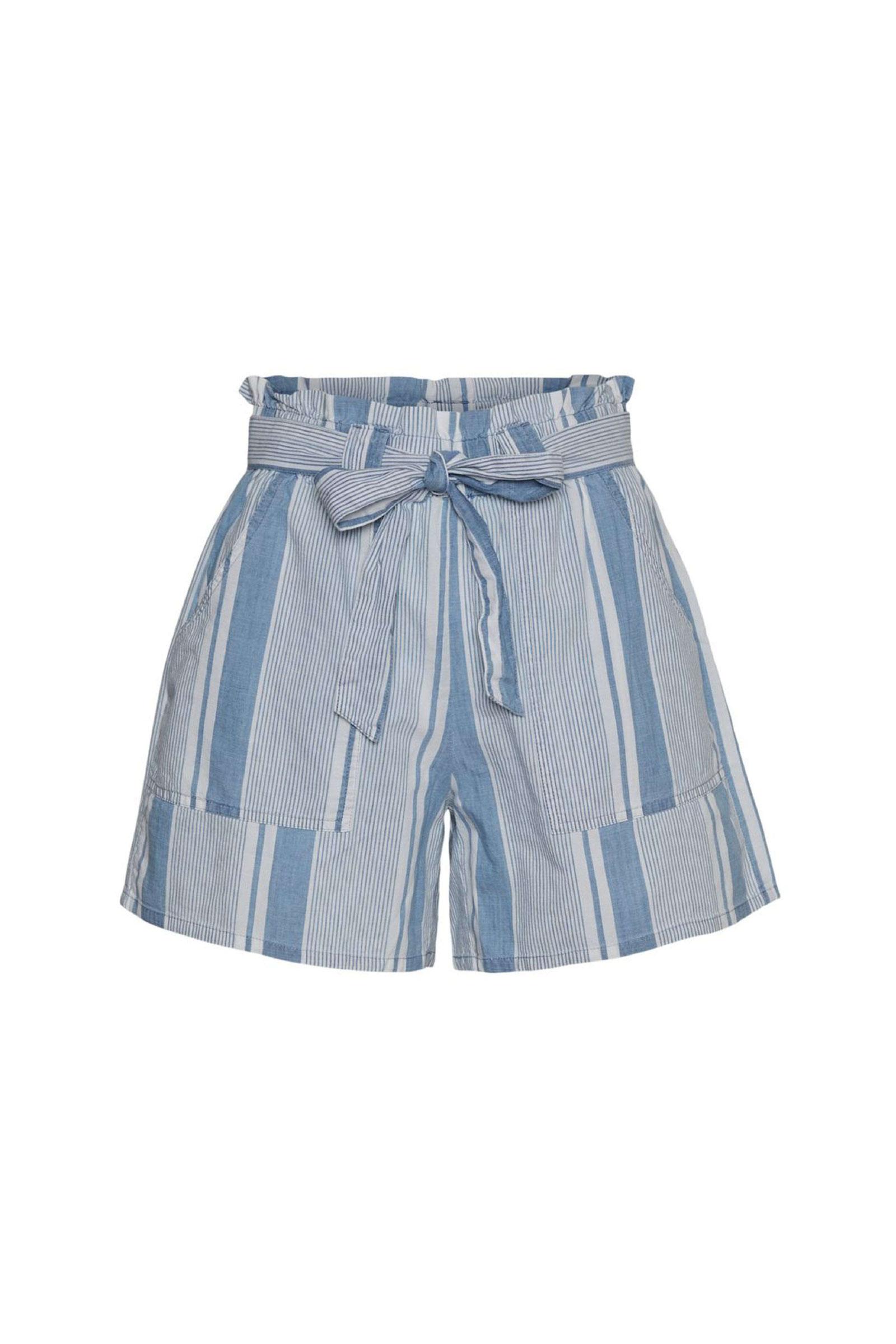 VERO MODA Shorts Woman VERO MODA |  | 10244775Stripes-WHITE