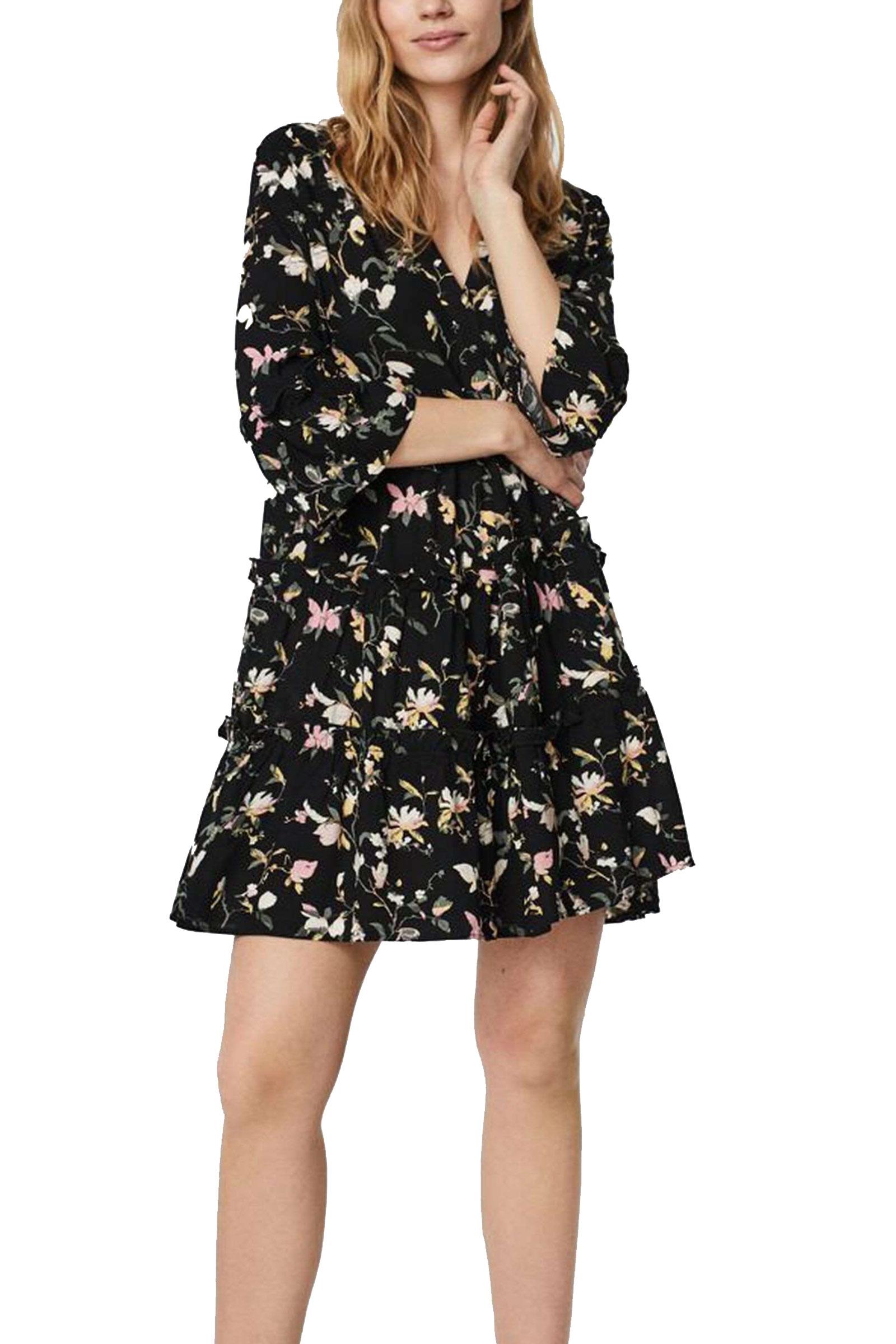 VERO MODA VESTITO CORTO Donna Modello SIMPLY EASY 3/4 VERO MODA | VESTITO CORTO | 10245162Black