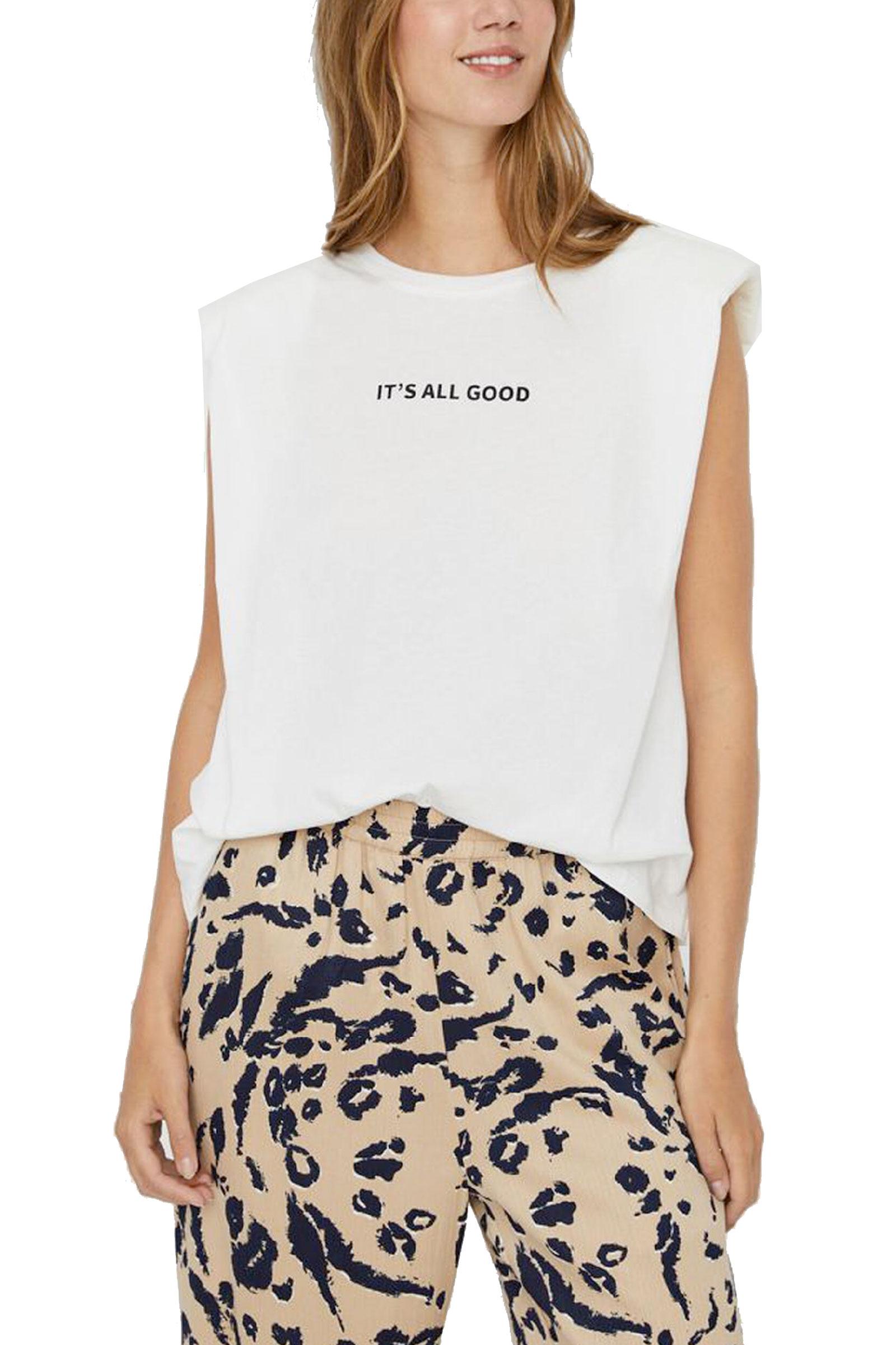 VERO MODA Women's T-Shirt VERO MODA | T-Shirt | 10245256Print-ITS ALL GOOD