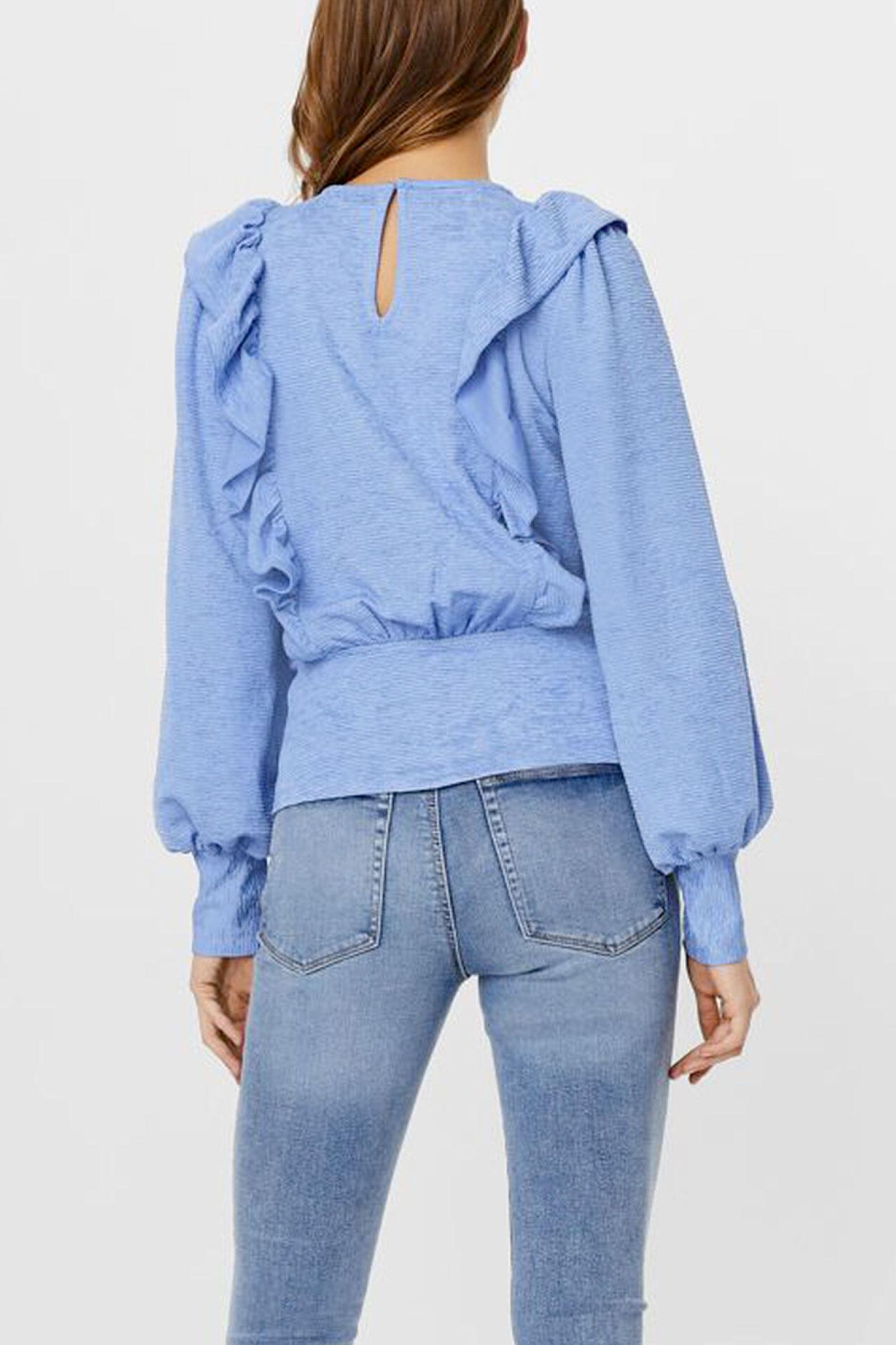 VERO MODA Camicia Donna Modello ALPHA VERO MODA | Maglia | 10247526Hydrangea