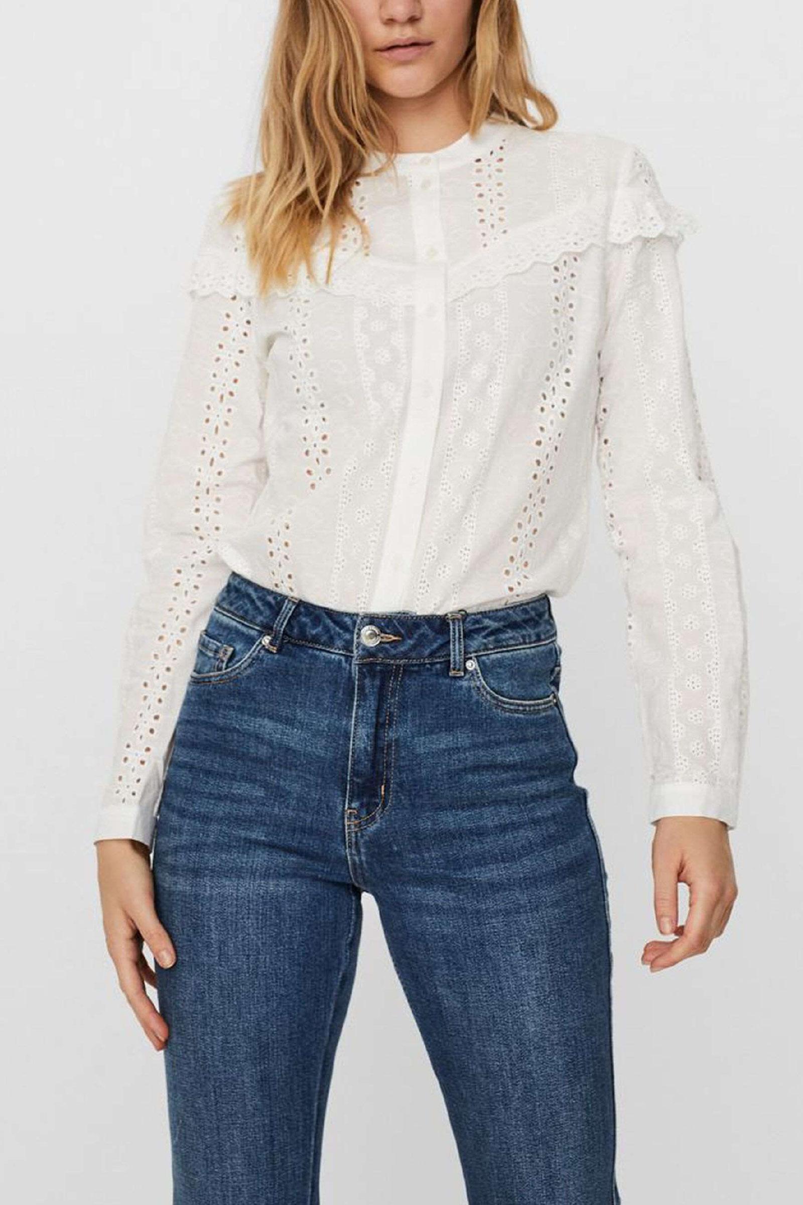 VERO MODA Camicia Donna VERO MODA | Shirt | 10247655Snow White