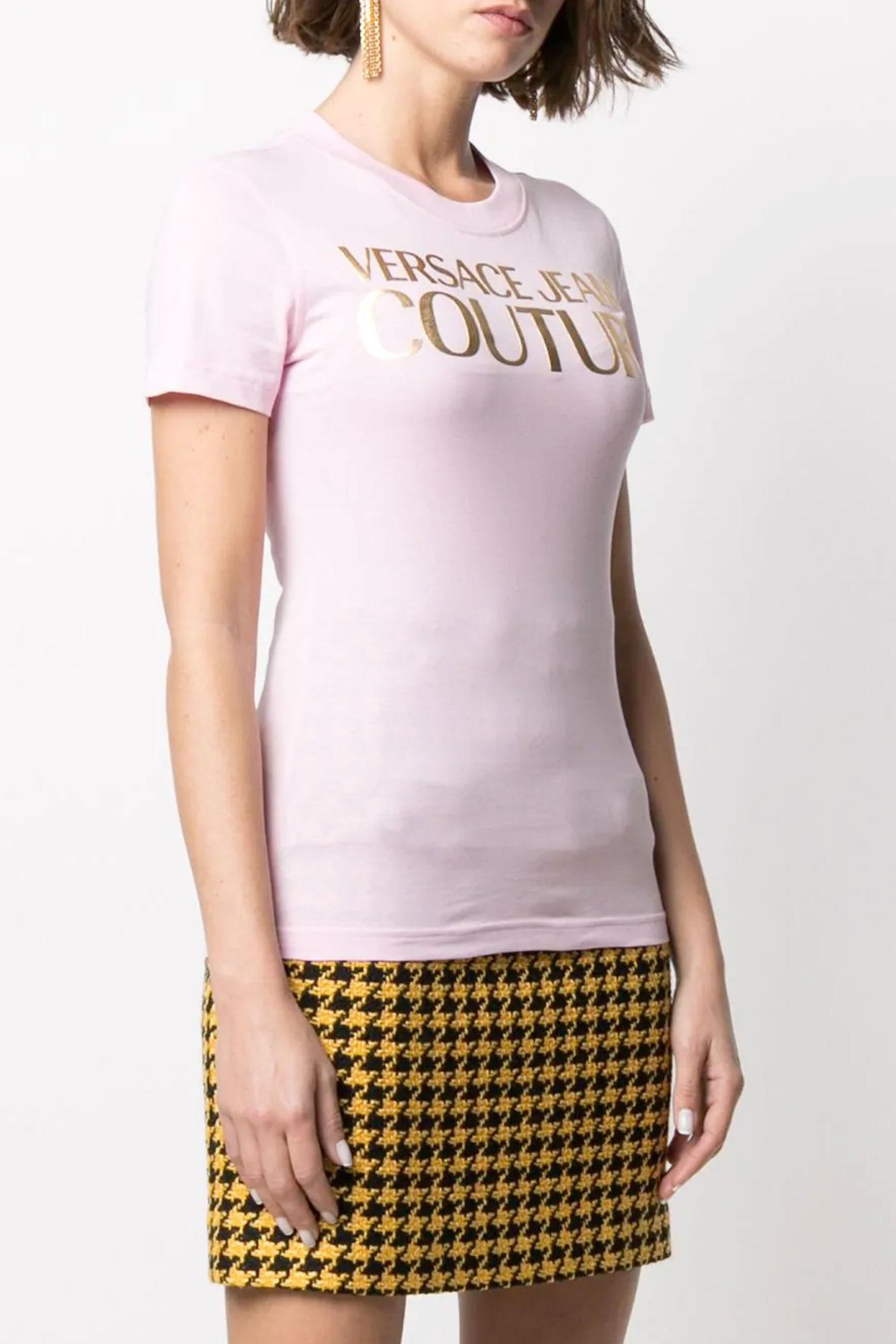 VERSACE JEANS COUTURE T-Shirt Donna VERSACE JEANS COUTURE   T-Shirt   B2HWA7TB30319402