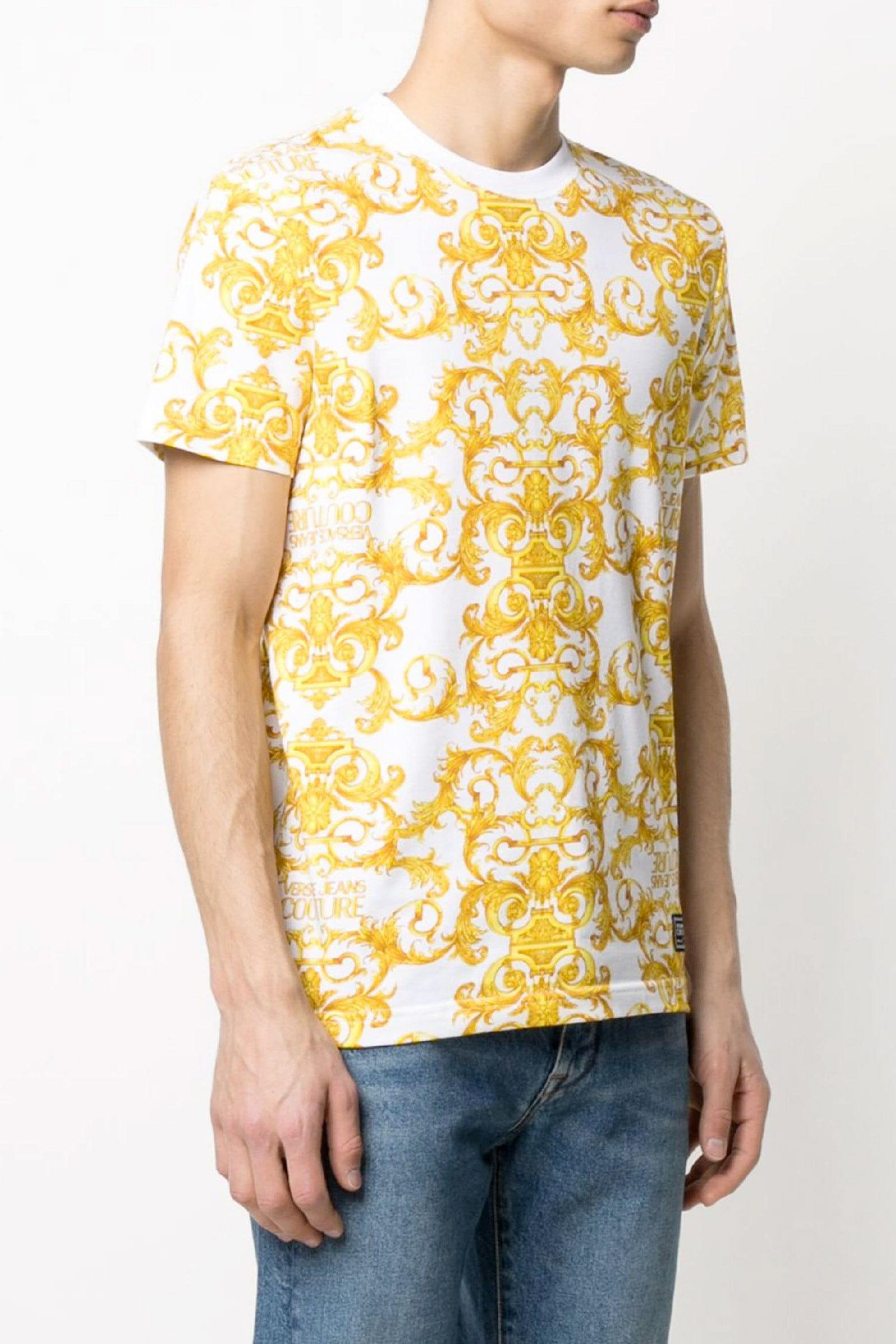VERSACE JEANS COUTURE Men's T-Shirt VERSACE JEANS COUTURE | T-Shirt | B3GWA7S0S01553