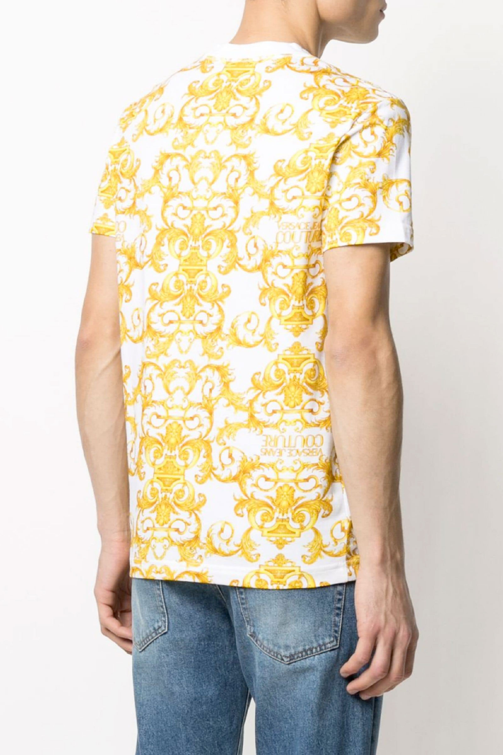 VERSACE JEANS COUTURE T-Shirt Uomo VERSACE JEANS COUTURE | T-Shirt | B3GWA7S0S01553
