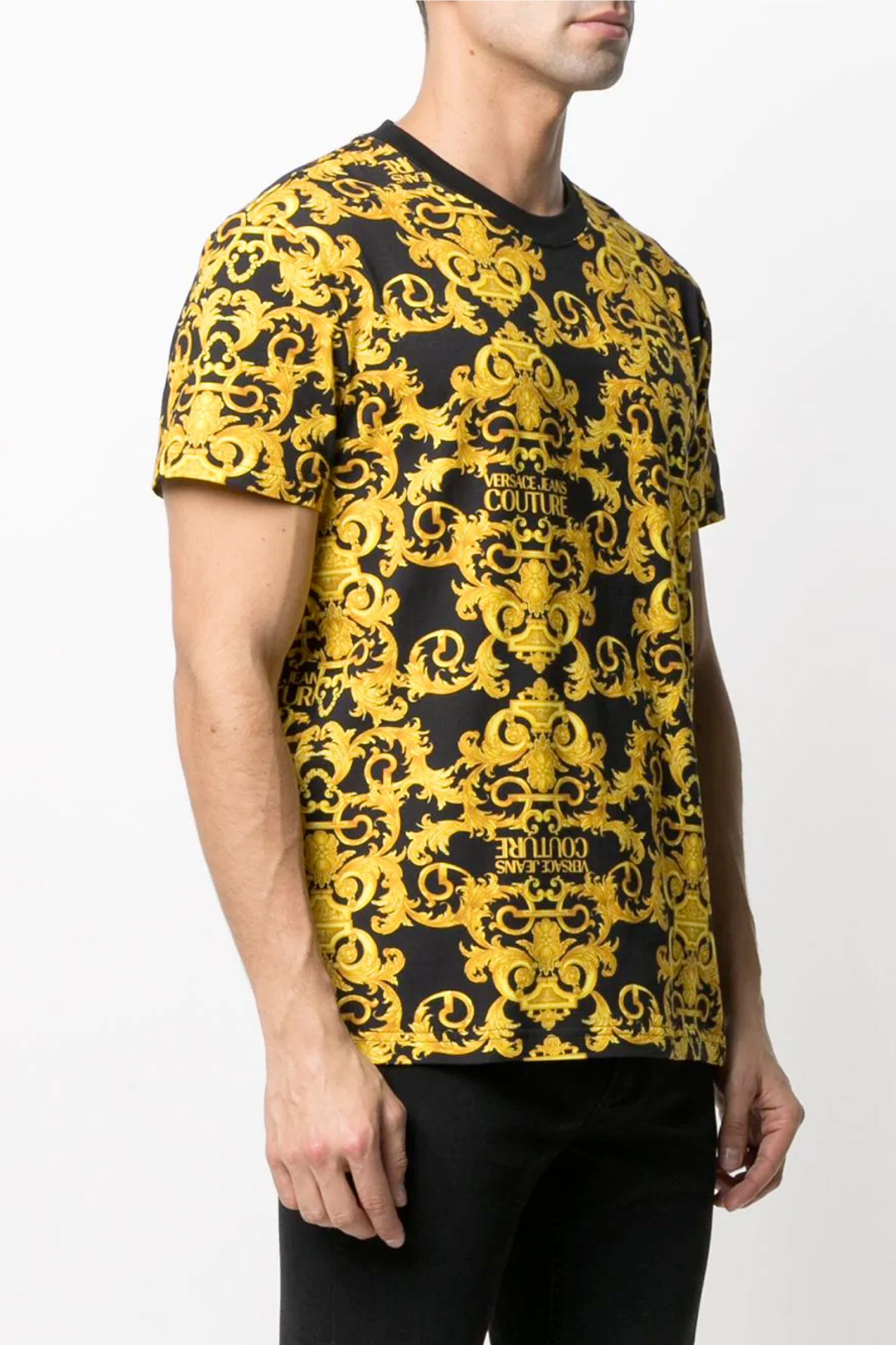 VERSACE JEANS COUTURE T-Shirt Uomo VERSACE JEANS COUTURE   T-Shirt   B3GWA7S0S0155899
