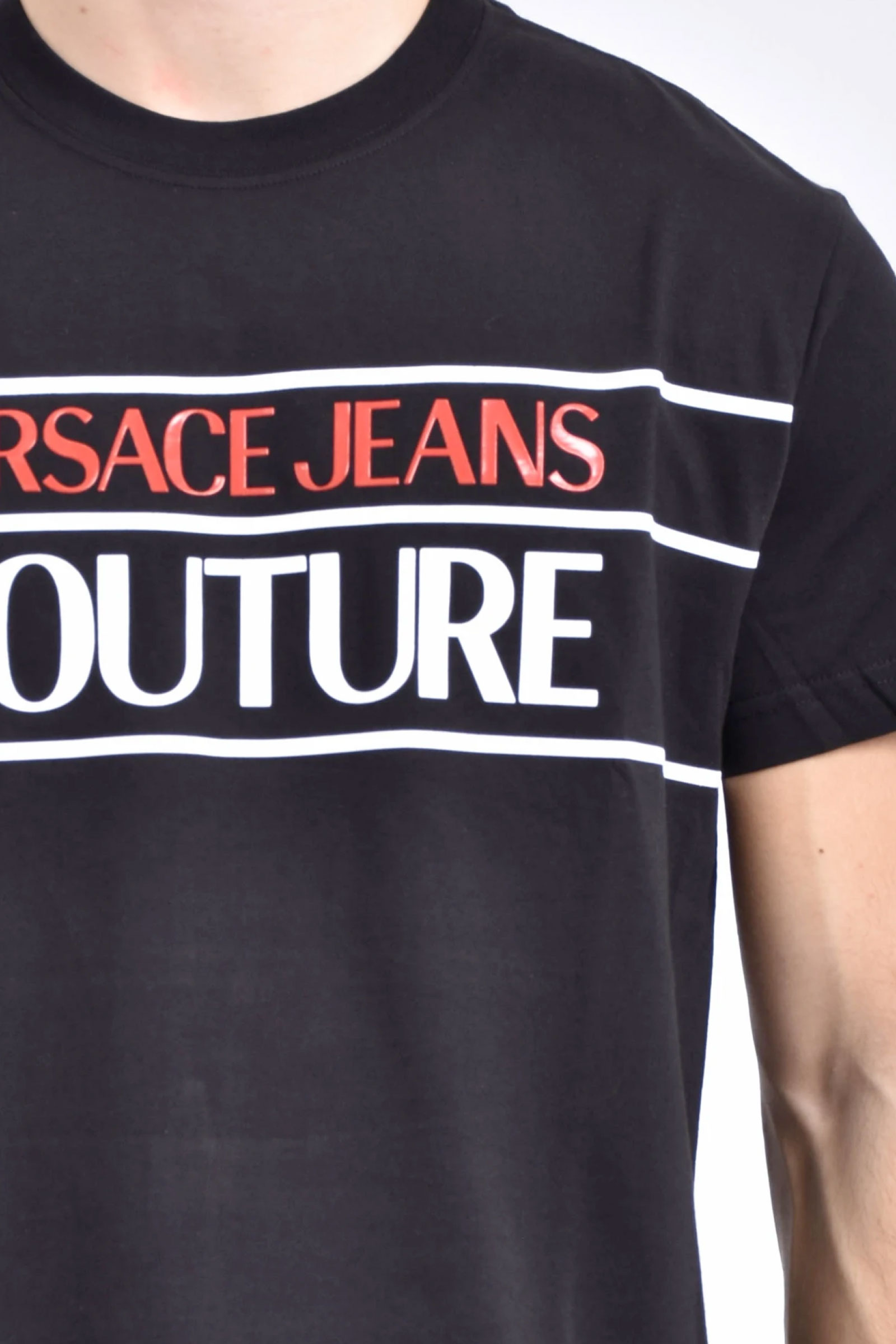 VERSACE JEANS COUTURE T-Shirt Uomo VERSACE JEANS COUTURE | T-Shirt | B3GWA7TC30319899