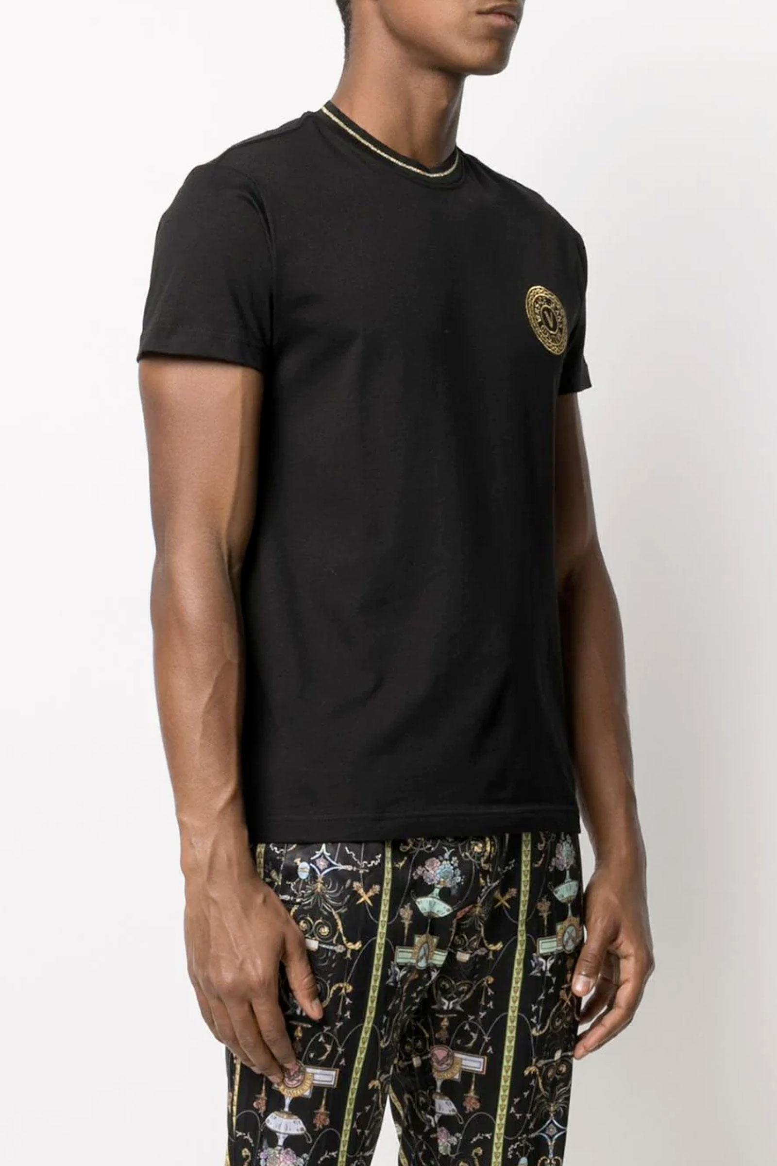 VERSACE JEANS COUTURE Men's T-Shirt VERSACE JEANS COUTURE | T-Shirt | B3GWA7TF30319K42