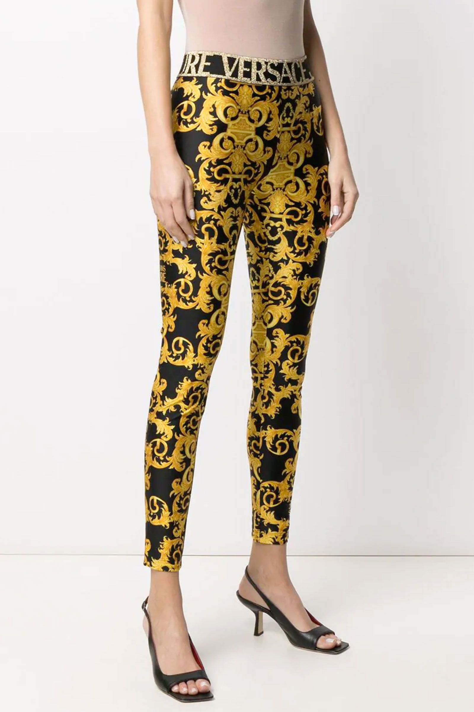 VERSACE JEANS COUTURE Leggins Donna VERSACE JEANS COUTURE | Legging | D5HWA101S0125899