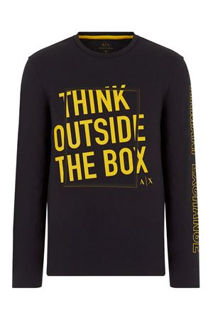 ARMANI EXCHANGE Men's T-Shirt ARMANI EXCHANGE | T-Shirt | 6HZTAR ZJS1Z1200