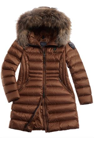 BLAUER Long Down Jacket Woman Model Evelyn BLAUER |  | BLDK03083 4938351