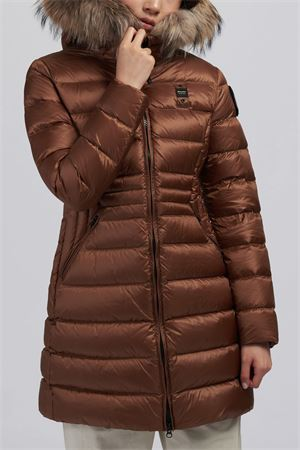 BLAUER Long Down Jacket Woman Model Evelyn BLAUER | Trench | BLDK03083 4938351