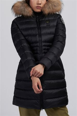 BLAUER Long Down Jacket Woman Model Evelyn BLAUER | Trench | BLDK03083 4938999