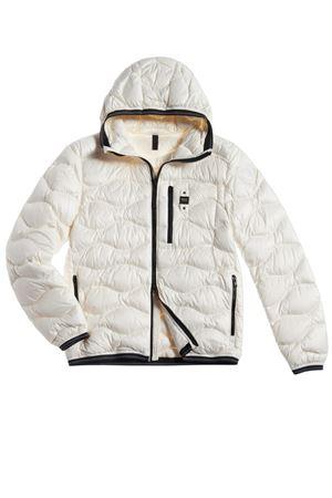 BLAUER Down Jacket With Waves Man Model Roy BLAUER |  | BLUC03099 4719100