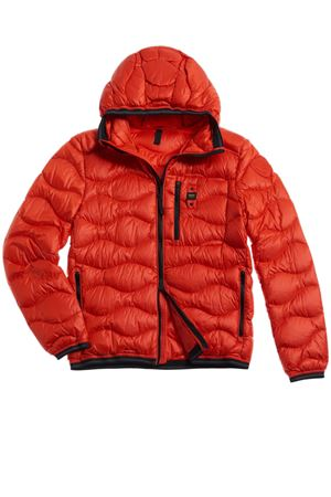 BLAUER Down Jacket With Waves Man Model Roy BLAUER |  | BLUC03099 4719449