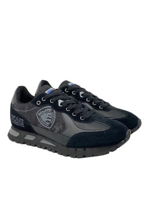 BLAUER Shoes Man Model Mustang 04 BLAUER | Shoes | F0MUSTANG04/CAMBLK