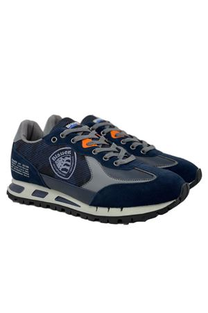 BLAUER Shoes Man Model Mustang 04 Cam BLAUER | Shoes | F0MUSTANG04/CAMNVY