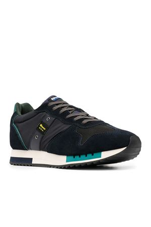 BLAUER Shoes Man Model Queens 01 Cam BLAUER | Shoes | F0QUEENS01/CAMNVY