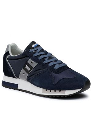 BLAUER Shoes Man Model Queens BLAUER | Shoes | F0QUEENS01/MESNVY