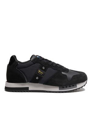 BLAUER Shoes Man Model Queens BLAUER | Shoes | F0QUEENS01/TASBBK