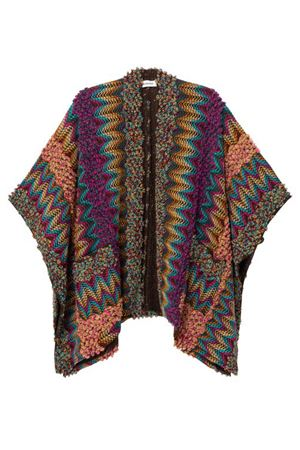 DESIGUAL Poncho Woman Model AUTENTIC DESIGUAL | Poncho | 20WAIA023004
