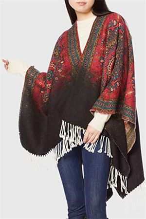 DESIGUAL Poncho Woman Model PERSONALITY DESIGUAL | Poncho | 20WAIW076000