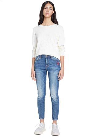 DESIGUAL Jenas Woman Model ALBA DESIGUAL | Jeans | 20WWDD175053