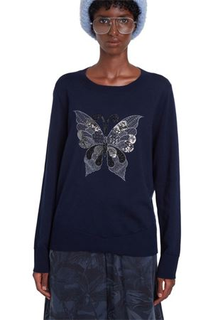 DESIGUAL Pullover Woman Model BUTTERFLY DESIGUAL | Pullover | 20WWJF915001