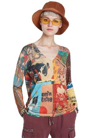 DESIGUAL Pullover Woman Model BUCHAREST DESIGUAL | Pullover | 20WWJFAJ6008