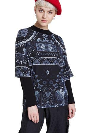 DESIGUAL Pullover Donna Modello RAVENA DESIGUAL | Pullover | 20WWJFBJ2000