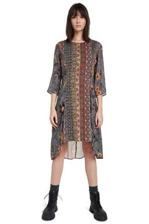 DESIGUAL Vestioto Woman Model PISA DESIGUAL | Dress | 20WWVW976073