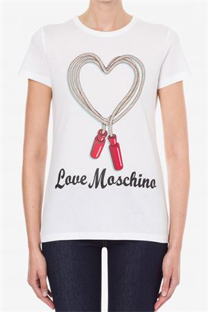 LOVE MOSCHINO Women's T-Shirt LOVE MOSCHINO | Mesh | W4F73 69 M3876A00