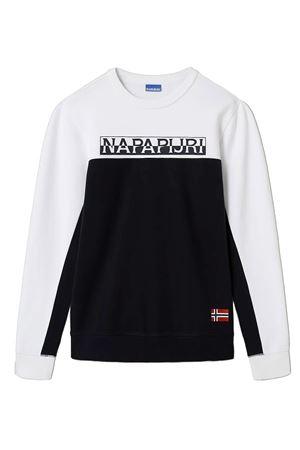NAPAPIJRI Sweatshirt Man Model Ice NAPAPIJRI   Sweatshirt   NP0A4ETM1761