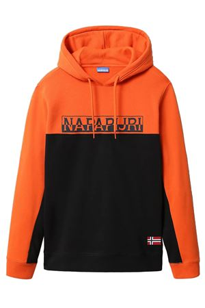 NAPAPIJRI Men's Sweatshirt with Hood Model Ice NAPAPIJRI | Sweatshirt | NP0A4FDD041