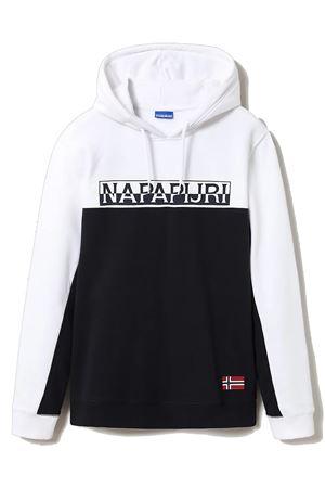 NAPAPIJRI Men's Sweatshirt with Hood Model Ice NAPAPIJRI | Sweatshirt | NP0A4FDD1761