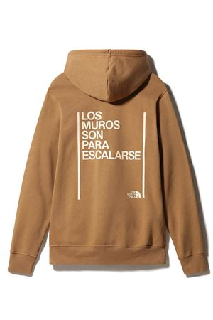 THE NORTH FACE Felpa Uomo  Con Cappuccio e scritta THE NORTH FACE | Felpa | 3YDN173