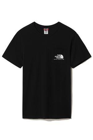 THE NORTH FACE T-Shirt Uomo Con Taschino Berkeley California THE NORTH FACE | T-Shirt | 4M92JK3