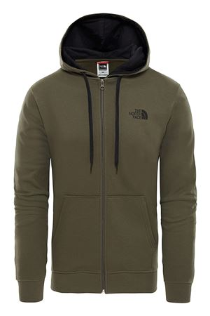 THE NORTH FACE Felpa Uomo Con Cappuccio e Cerniera Integrale Modello Open Gate THE NORTH FACE | Felpa | CG4621L