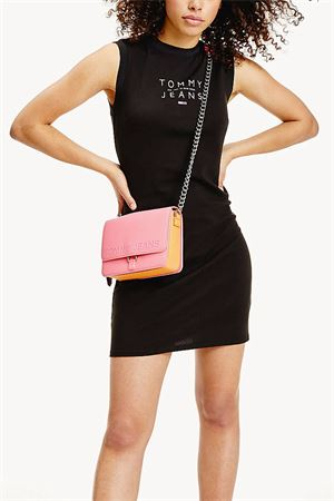 TOMMY JEANS Woman Dress Black TOMMY JEANS | Dress | DW0DW08444BDS