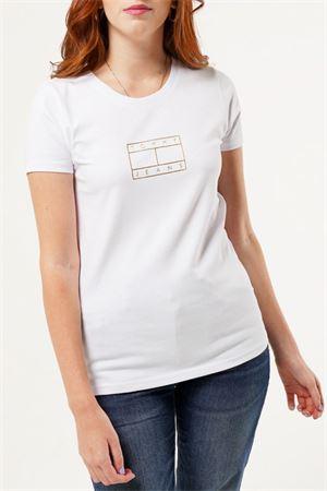TOMMY JEANS T-Shirt Donna TOMMY JEANS | T-Shirt | DW0DW08473YBR