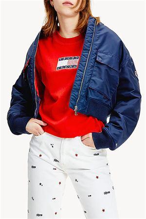 TOMMY JEANS T-Shirt Donna TOMMY JEANS | T-Shirt | DW0DW08482XNL