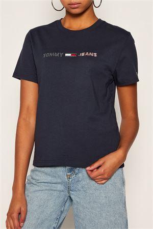 TOMMY JEANS T-Shirt Donna TOMMY JEANS | T-Shirt | DW0DW08486C87