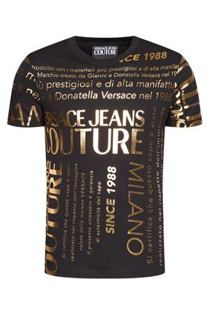 VERSACE JEANS COUTURE VERSACE JEANS COUTURE | T-Shirt | B3GZA7TL.30319K42 ZUP600