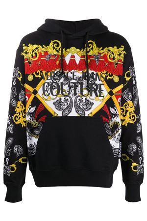 VERSACE JEANS COUTURE Men's Sweatshirt VERSACE JEANS COUTURE | Sweatshirt | B7GZA7KI.30328899 ZUP304