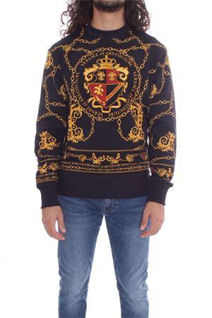 VERSACE JEANS COUTURE Men's Sweatshirt VERSACE JEANS COUTURE | Sweatshirt | B7GZB7KF 30328K42 ZUM302