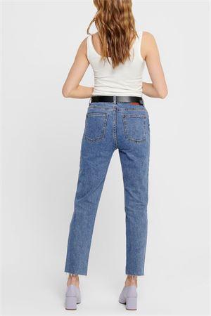 Jeans Donna Modello Emily ONLY | Jeans | 15171549Dark Blue Denim