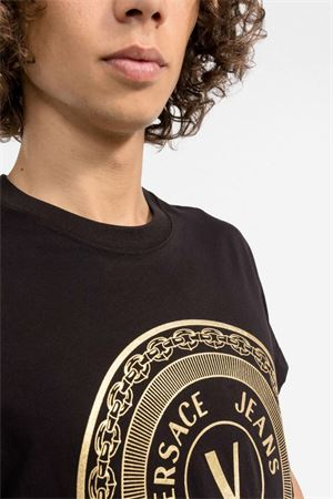 T-Shirt Uomo VERSACE JEANS COUTURE | T-Shirt | 71GAHT12 CJ00TG89