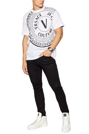 T-Shirt Uomo VERSACE JEANS COUTURE | T-Shirt | 71GAHT19 CJ00T003