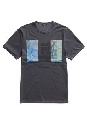 BLAUER Men's T-Shirt BLAUER      BLUH02256 005321892
