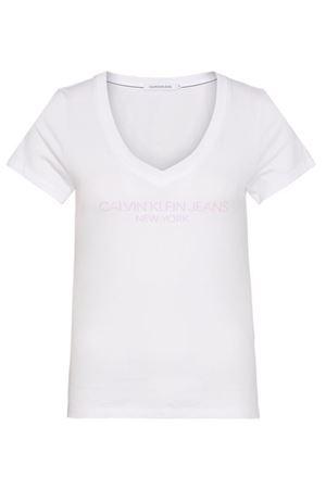 CALVIN KLEIN JEANS Women's T-Shirt CK JEANS |  | J20J213570YAF